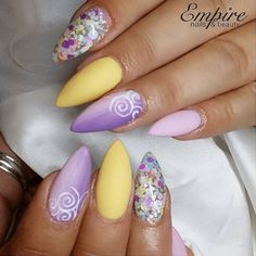 21 Spring Nail Looks > CherryCherryBeauty.com • empirenailsandbeauty / Instagram