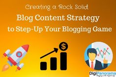 Are you blogging without any blogging strategy to guide you?  Step-up your blogging game by creating and following a solid blog content strategy.