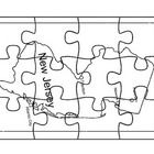 This is a state map puzzle and it includes two map reflection activities where students draw and write about the map....