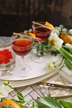 Deconstructed Negroni Cocktail Recipe - Discover, A World Market Blog