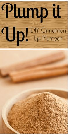 DIY natural lip plumping scrub and oil