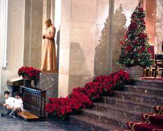 Decoración floral iglesia boda ambientación navideña; Wedding planners, organización de bodas One & Perfect Wedding Planning