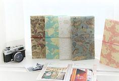 World Map 4x6 Photo Album