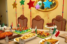 """""""International Eid party for my son. Served dishes from various countries representing muslims around the world."""" 