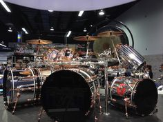 Alex Van Halen's 2015 Ludwig Classic Maple Drum Set