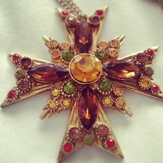 My favourite vintage piece by Christian Lacroix, doubles up as a necklace and brooch.