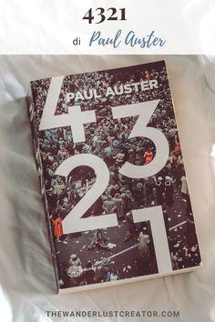Uno dei più grandi capolavori del postmodernismo, 4321 di Paul Auster ha fatto parlare tanto di sé. Se stai considerando di leggerlo, ma le sue dimensioni ti spaventano, in questo articolo cercherò di chiarirti le idee sul perché dovresti farlo. #consiglidilettura #letteraturanovecento #novecentoamericano #letteraturaamericana #4321paulauster #romanzidaleggere Paul Auster, Samuel Beckett, Luther, The Creator, Wanderlust, Libros