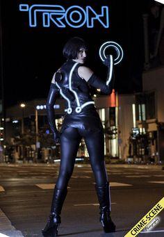 Tron cosplay