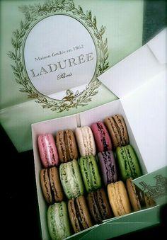 Eat macarons from Laduree in Paris.