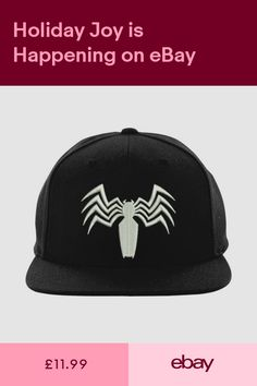 788d9375dc424 ultimate spider-man Venom Snapback Marvel Comics Superhero Embroidered Cap