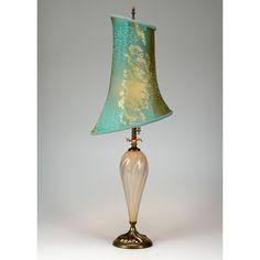 Kinzig Design Alexandra Table Lamp 2H27, Artistic Artisan Designer Blown Glass Table Lamps