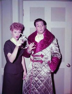 "On set photo from ""Homecoming"" episode (1955). 