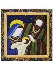 Holy Family Quilt magic kit for a lovely wall hanging.