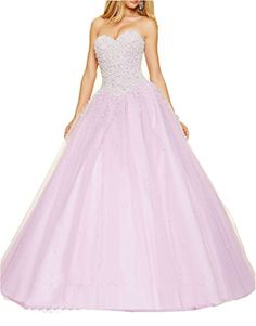 Ikerenwedding Women's Sweetheart Beaded Quinceanera Dress Tulle Lace-up Prom Gown Purple US6 Ikerenwedding http://www.amazon.com/dp/B01CJ5408G/ref=cm_sw_r_pi_dp_s-24wb1PZ2NGZ