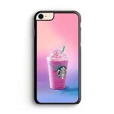 Unicorn Frappuccino Starbucks Wallpaper iPhone 8 | Miloscase Starbucks Wallpaper, Iphone 7 Phone Cases, Starbucks Frappuccino, How To Know, How To Make, Plastic Material, Iphone Wallpaper, Unicorn, How To Apply