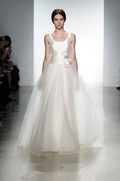 Amsale wedding dress from the Spring 2014 bridal collection | via junebugweddings.com