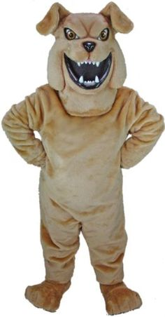 Bully Bulldog Mascot Costume MaskUS Costumes http://www.amazon.com/dp/B001GWVZ96/ref=cm_sw_r_pi_dp_fTg8vb08Y2VJQ