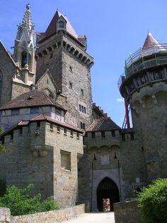 Castle Kreuzenstein, Austria ~Repinned Via idioto francisco dominguez serrano