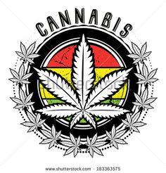 Marijuana and weed leaf logo design. Marijuana and weed leaf logo stamp design , Marijuana Art, Marijuana Leaves, Medical Marijuana, Weed Pictures, Weed Pics, Stoner Art, Skull Art, Weed, Dope Wallpapers