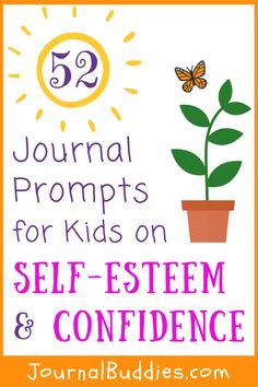 In these journal prompts, children are encouraged to reflect on the positive aspects of their lives with motivating or inspiring ideas to consider. Art Therapy Activities, Classroom Activities, Therapy Games, Indoor Activities, Writing Activities, Summer Activities, Family Activities, Classroom Ideas, Journal Prompts For Kids