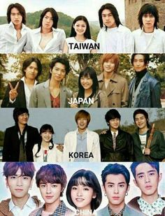 boys over flowers Different countries version F4 Boys Over Flowers, Boys Before Flowers, Meteor Garden Cast, Meteor Garden 2018, Korean Drama Movies, Korean Actors, Asian Actors, Playful Kiss, Drama Funny
