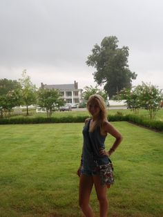 Visiting the Carnton Plantation in Franklin, TN during the rain #SummerForever #F21xMe