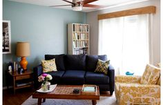 Carrie Waller's Lynchburg Town House Tour #theeverygirl
