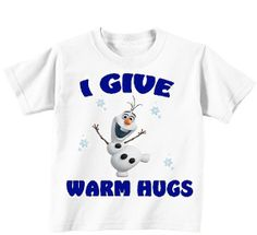 Frozen Olaf Shirt Toddler Kids Childrens Tshirt by AnimationTees, $12.99