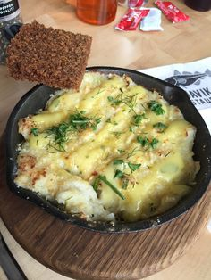 Plokfiskur, the national dish of Iceland prepared with cod, milk, potato and onion National Dish, Iceland, Quiche, Cod, Mashed Potatoes, Onion, Milk, Dishes, Breakfast