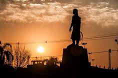 Estatua do Laçador em Porto Alegre
