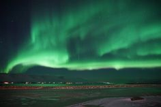 Aurora Borealis - Akureyri, Iceland