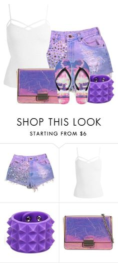 """""""I love these shorts!"""" by tlb0318 on Polyvore featuring Sans Souci, Skinnydip and Aéropostale"""