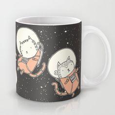 Cat-Stronauts+Mug+by+Drew+Brockington+-+$15.00