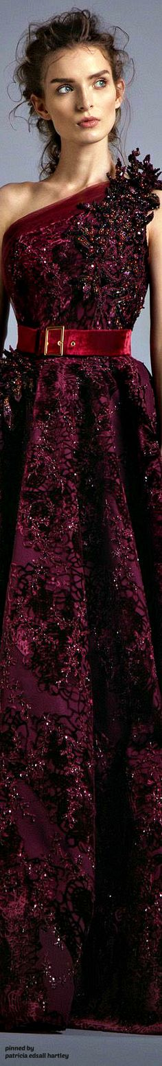 """Alfazairy """"Ruby"""" FW 2017 Couture"""