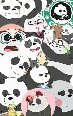 #wallpaper #collage #wearebears #panda #escandalosos #fondo #fondodepantalla #cartoonnetwork #noroben #bears #cute lo hice yoo Wallpaper Collage, Bear Wallpaper, Cute Wallpaper Backgrounds, We Bare Bears Wallpapers, Panda Wallpapers, Cute Cartoon Wallpapers, Ice Bear We Bare Bears, We Bear, Cartoon Wallpaper Iphone