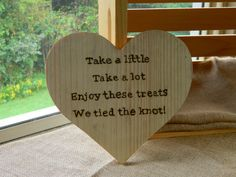 Wooden Heart Sign for Wedding or Party Candy Table Buffet, Decoration, Reception Rustic Dessert Bar Wedding, Candy Bar Wedding, Wedding Reception Signs, Reception Party, Wedding Favours, Wedding Cards, Diy Wedding, Wedding Day, Party Tables