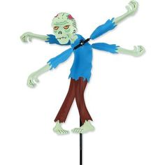 Find the perfect seasonal Zombie Flailing Arms Whirligig Wind Spinner at Heartland Flags. Backed with our money-back guarantee! Make your yard ready for Halloween or the zombie apocalypse with this 19