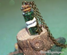 Neverland Necklace with a Star Charm Bronze Magic by FandomMagic, $16.00