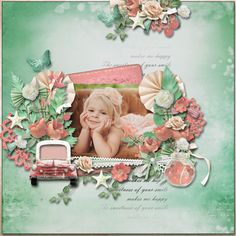 It's a beautiful day by Pat's Scrap & Ilonka's Scrapbook Designs http://www.digiscrapbooking.ch/shop/index.php?main_page=product_info&cPath=22_26&products_id=17713 Photo by Iga Logan Wordart by Angel