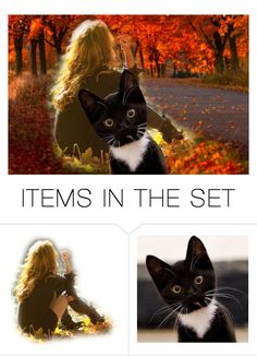 """""""She Is MY Human"""" by naviaux ❤ liked on Polyvore featuring art"""