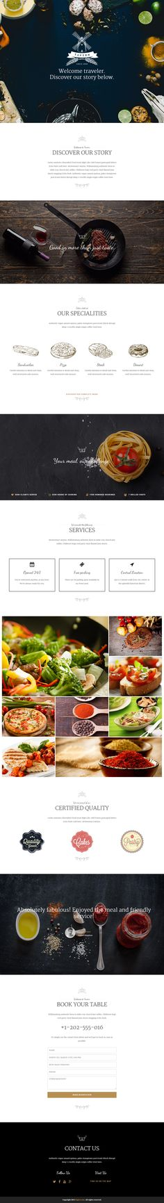 Tavern is Premium full Responsive Parallax Retina WordPress Restaurant Theme. Drag & Drop. Bootstrap. WooCommerce. One Page. #WordPress #Restaurant #OnePage Test free demo at: http://www.responsivemiracle.com/cms/tavern-premium-responsive-professional-restaurant-wordpress-theme/