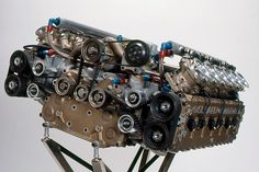 Flat 12 engine from Subaru's failed attempt at F1 in the early 1990s....failed, because it ONLY developed 600 horsepower, while it's competitors were developing 700+