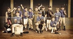 "baseball-Hint hint All County Baseball- you need to have pictures took like this for the season!!! so much better than the standard ""baseball"" pictures:)"