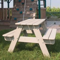 Have to have it. POLYWOOD Recycled Plastic Kids Picnic Table $264.99