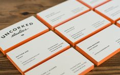 Business Cards for Uncorked Studios / by Uncorked Studios