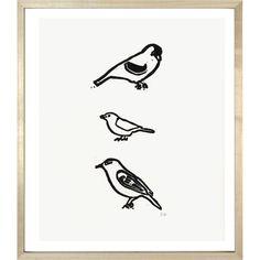 John Derian Company Inc — 3 Birds
