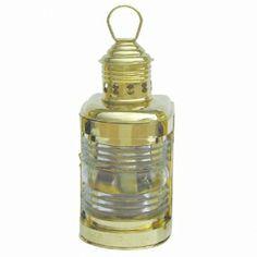 Massive Bateau Lampe-Bateau Lampe En Laiton H 25 cm-Petroleum Messing, Decorative Bells, Barware, Perfume Bottles, Lighting, Ebay, Brass Lamp, Electric, Objects