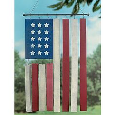 Flag Wind Chimes...OH! SO gonna make this one! pg