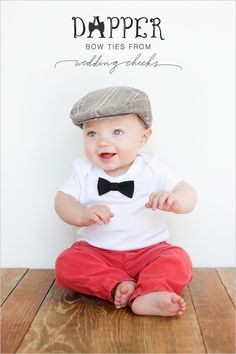 @Christie Frederick   Since I decided baby Frederick is a boy and he is going to be the best looking baby ever, he needs a bow tie!!!!