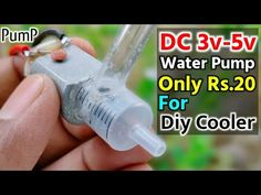 Diy Water Pump, Diy Cooler, How To Make Water, Electronics Projects, Prepping, Life Hacks, Boat, Pumps, Mini